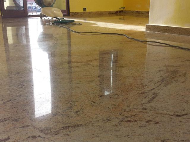Lucidatura pavimenti canna a messina for Pavimenti in graniglia e arredamento moderno